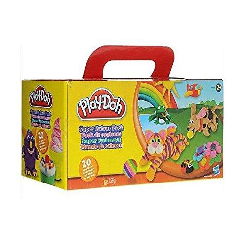 (Wieder da) Play Doh Knete Super Farbenset 20er Pack für 9,99€ bei [Amazon Prime]