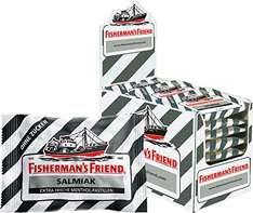 Fisherman's Friend Salmiak ohne Zucker, 25 g