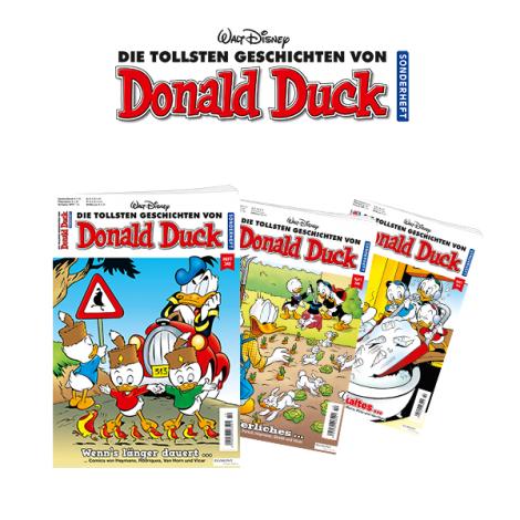 Donald Duck Sonderheft Abo - Jahresabo X-Mas Spezial   12+1 Ausgaben für 39,90 + 2 Prämien (u.a. 10€ Amazon GS) + Überraschung