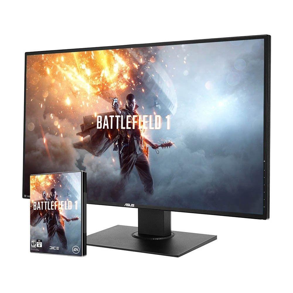 """ASUS PB328Q (32 WQHD VA, 300cd/m², 4ms, 75Hz, höhenverstellbar + Pivot + Swivel, DVI + HDMI + DP, 4x USB 3.0, 100% sRGB, VESA) + Key für """"Battlefield 1"""" für 399€ [B-Ware mit 3J Garantie] [Ebay]"""