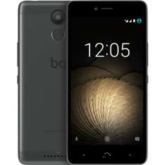 "BQ Aquaris U Plus 16GB intern, 2GB RAM Schwarz/Grau [12,7cm (5"") HD-Display, Android 6.0.1, 1.4 GHz Octa-Core CPU Snapdragon 430, Fingerprint, 16MP Kamera, Hybrid Dual-SIM] für 189,55 € > [Rakuten.de]"