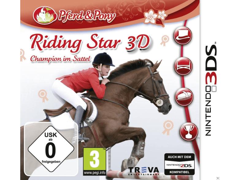 Riding Star 3D: Champion im Sattel - Nintendo 3DS 9,99€ inkl. Versand SATURN