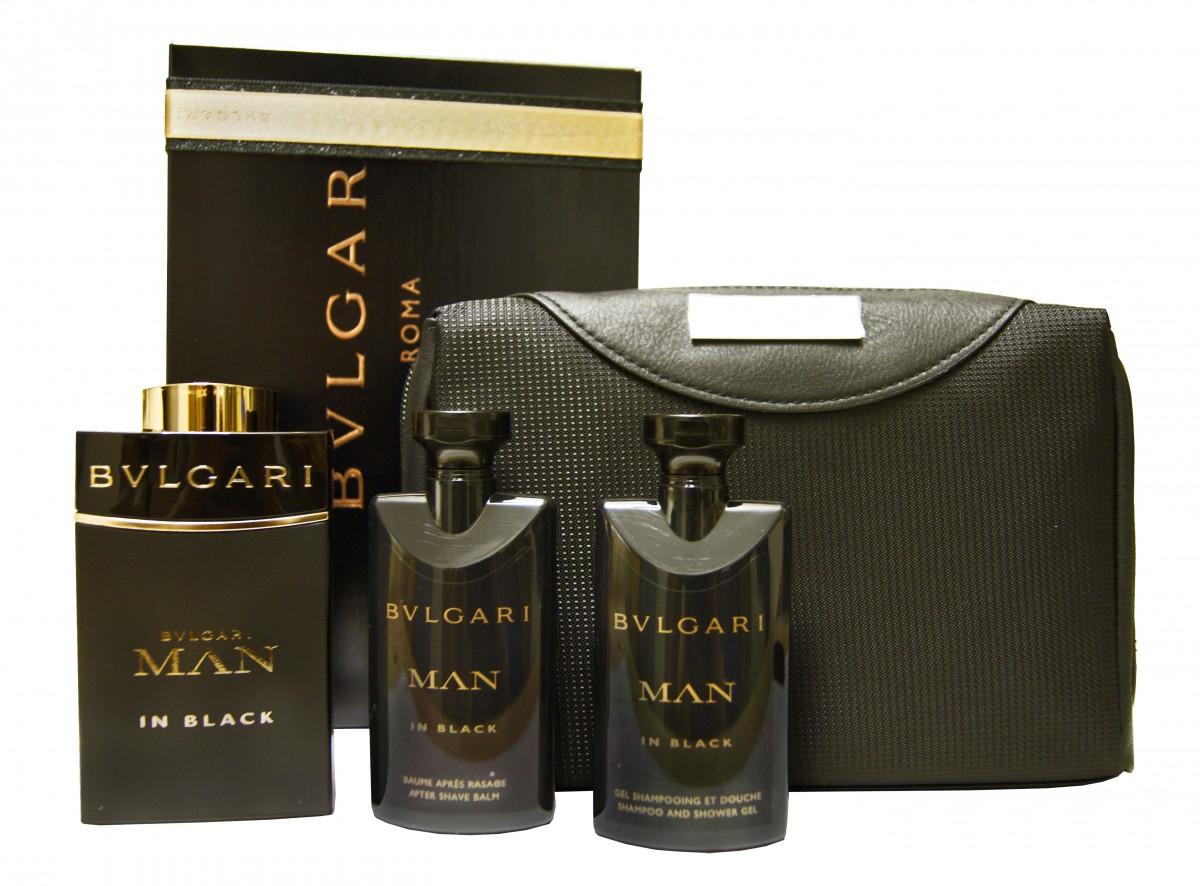 Schonmal für Weihnachten vorsorgen: Bvlgari Man in Black Geschenk-Set