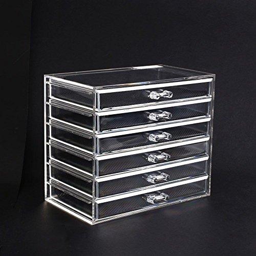 Kosmetik Organizer (mit 6 Schubladen) @ Amazon