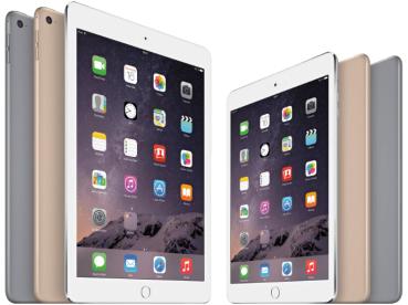 [Rakuten] Apple iPad Air 2 WiFi 128GB Versch. Farben [NEU] (Ohne Cellular)