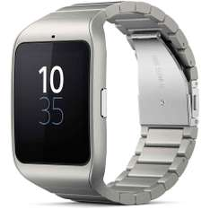 Sony Smart Watch 3 SWR50 metall Xperia Touch 1,6