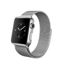 [cyberport] Apple Watch 38mm STAINLESS STEEL mit Milanaise-Armband