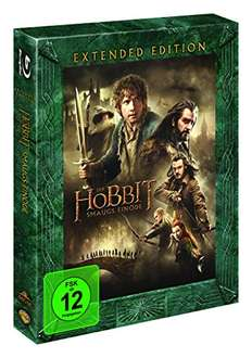 Amazon: Der Hobbit: Smaugs Einöde Extended Edition [Blu-ray] (PRIME)