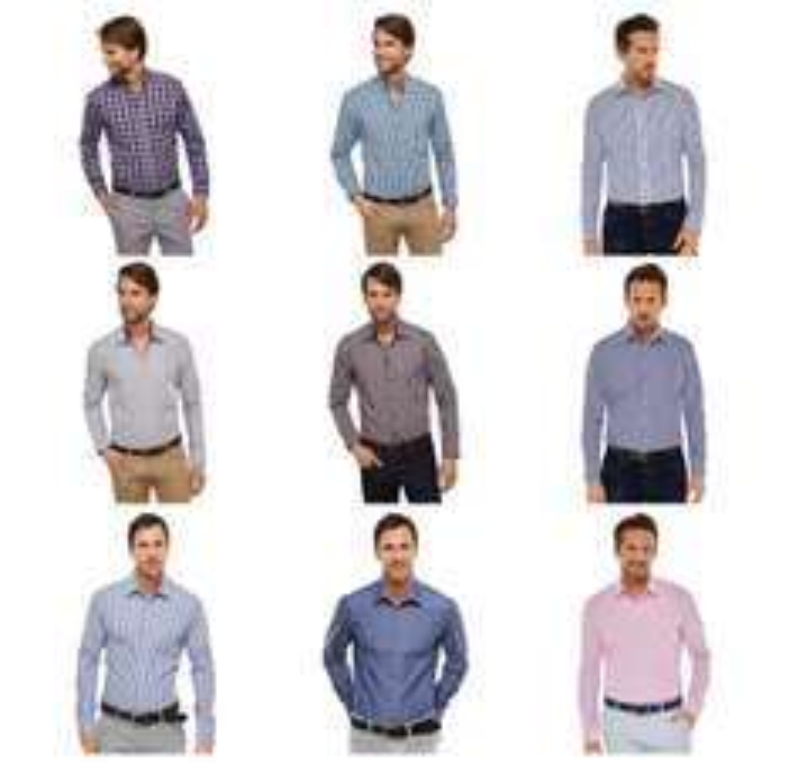 Schiesser Herren Hemden langarm / verschiedene Farben, Muster und Größen via ebay