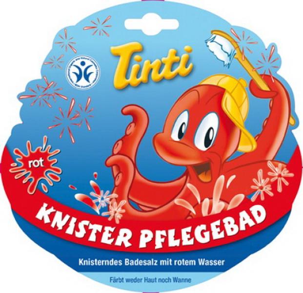 Tinti Knister Pflegebad rot, 20Stück