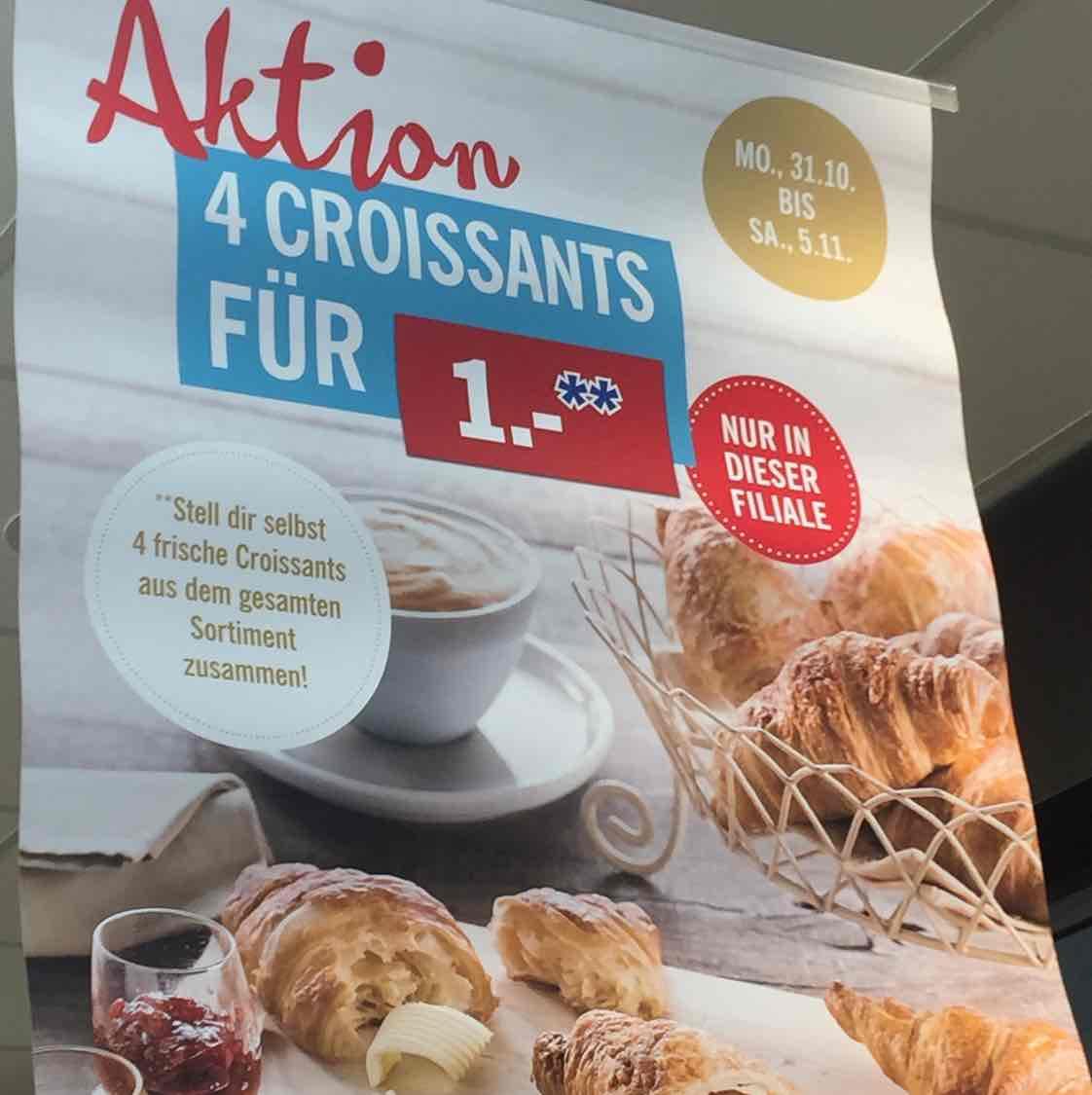 [Lidl Lokal Bonn] versch. Croissants 4 Stück 1€