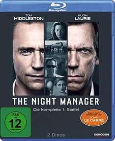 The Night Manager - Die komplette 1. Staffel [Blu-ray] für 14,90 € > [amazon.de] > Prime oder [mediamarkt.de] > Abholung