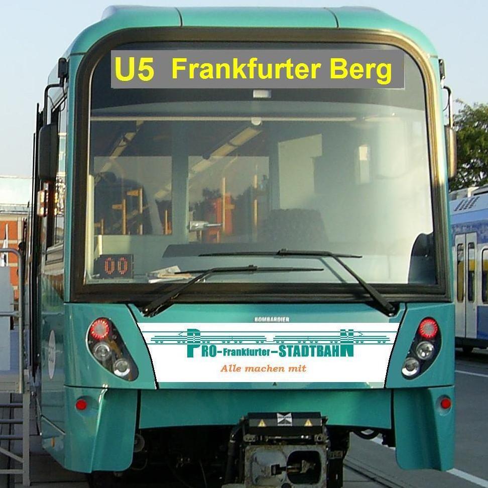 U-Bahnlinie U5 am 5. November ganztägig kostenlos benutzen [lokal Frankfurt]
