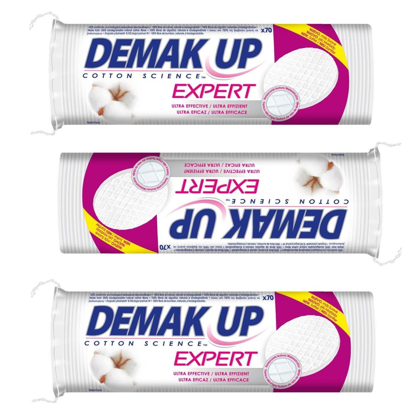 5 Packungen Demak Up Expert Wattepads für 0,16€/Packung bei Real (Angebot+Coupies)
