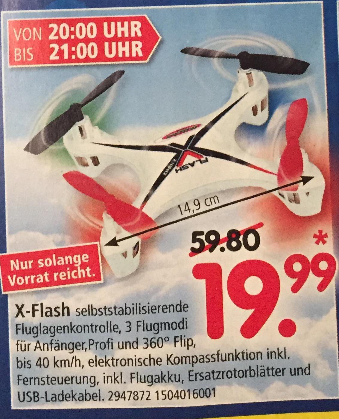 [lokal Mannheim] Segmüller X-Flash Drohne