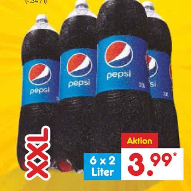 [Netto MD + Scondoo] Pepsi Cola 12x pro Account 0,23€ pro Liter