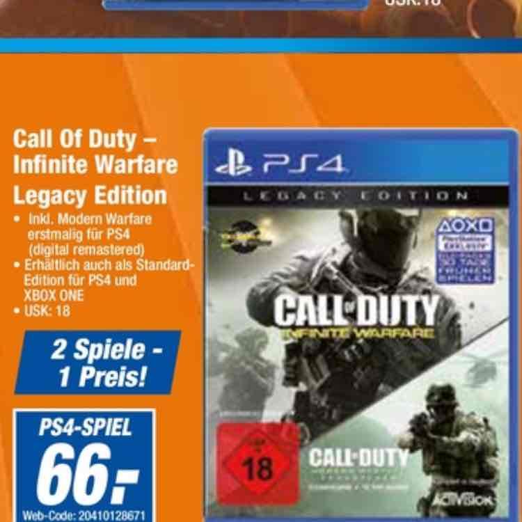EXPERT Ostsachsen Evtl. Bundesweit Call of Duty Infinite Warfare Legacy Edition PS4