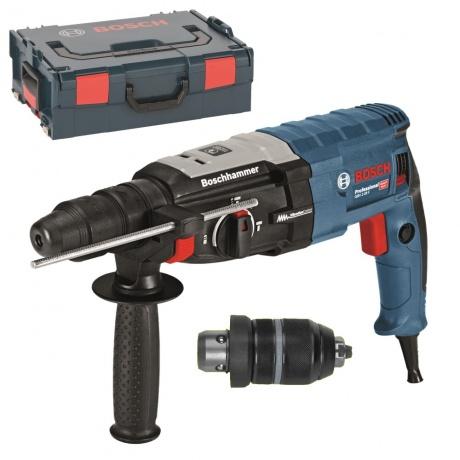 [rakuten] Bosch Bohrhammer mit SDS-plus GBH 2-28 F + L-Boxx + Futter + Zusatzgriff