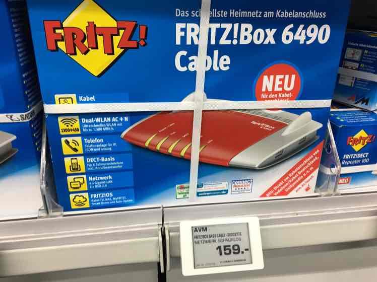 [Saturn Essen] AVM Fritzbox 6490 Cable