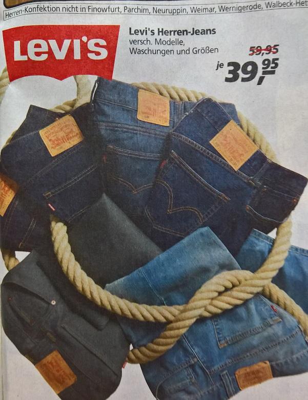 Levi´s Herren-Jeans bei real