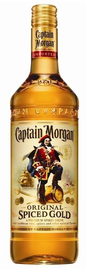 [Lokal & Onlineshop - Österreich] Captain Morgan 0,7l