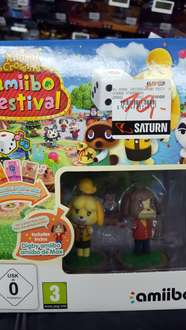 Saturn :Animal Crossing amiibo Festival  für Wii U(lokal hürth ) 10 Euro