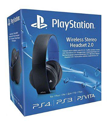 Abgelaufen PlayStation 4 Wireless Stereo Headset 2.0, schwarz/weiß