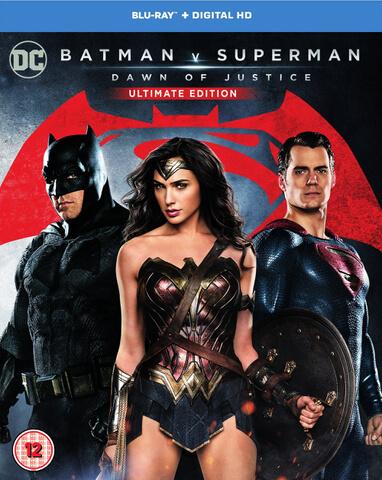 [O-Ton] Batman v Superman: Dawn of Justice 2 x Blu-ray für 11.49€ @ Zavvi