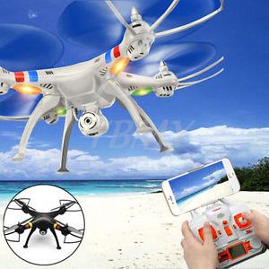 [Ebay]  SYMA X8W DRONE WIFI QUADROCOPTER mit KAMERA 4CH 6-ACHSEN