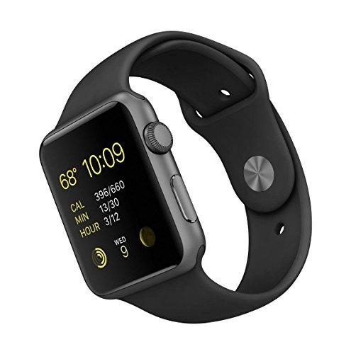 Apple Watch Series 1 42mm - Spacegrey/Schwarz zum Knallerpreis auf Amazon