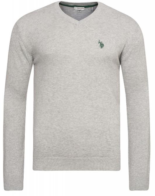 Outlet 46 US Polo Herren V Neck Pullover24,90€ inkl. Versand Blau, Schwarz und Grau UVP 100€