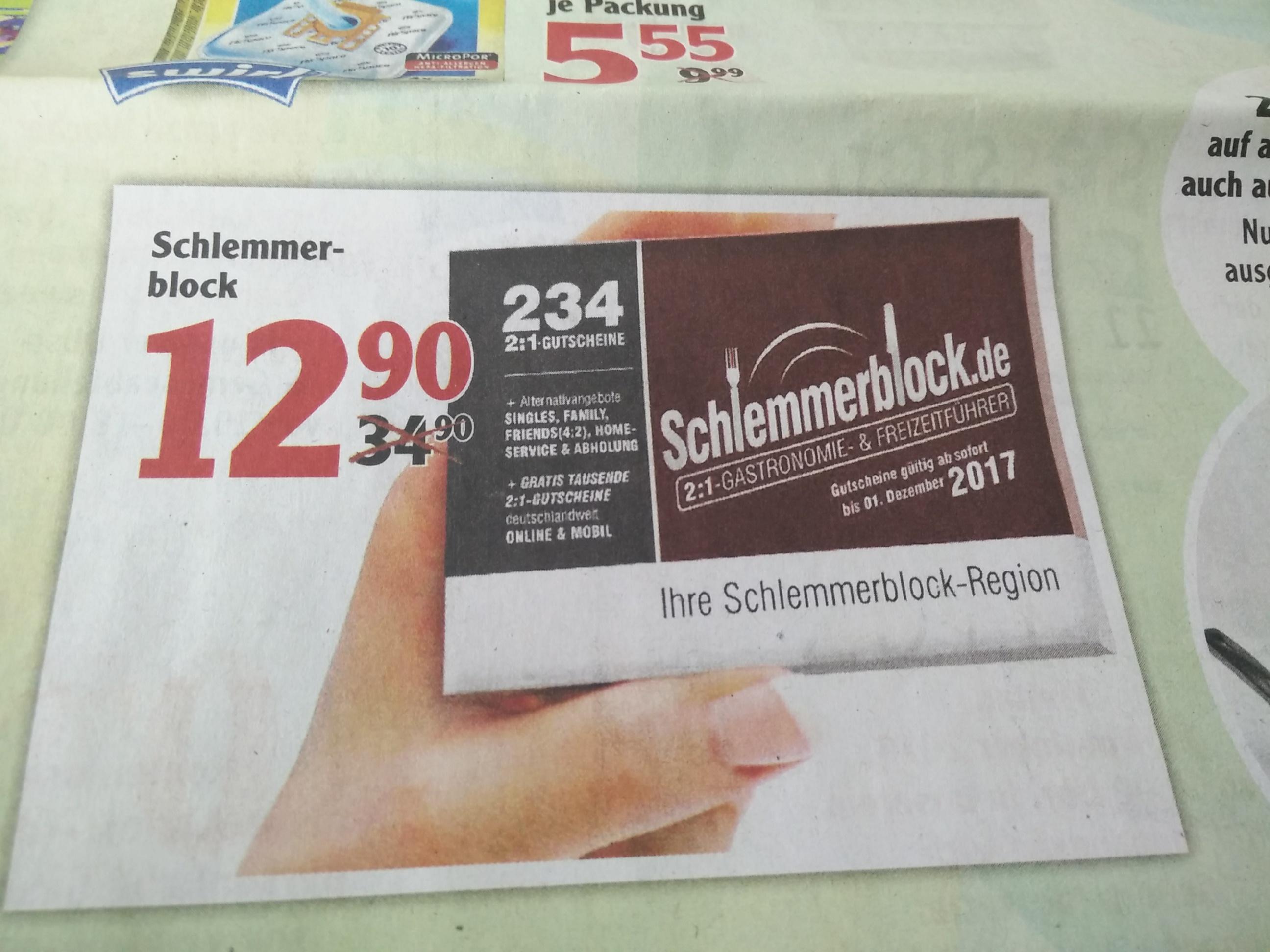 [Lokal Globus Koblenz und Lahnstein] Schlemmerblock 2017