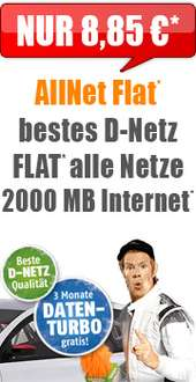 Klarmobil Allnet mit 1GB im Telekom Netz