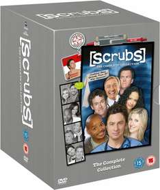 Scrubs - Complete Collection - Season 1-9 für 34.4€ in OT und tw in deutsch @ Zavvi