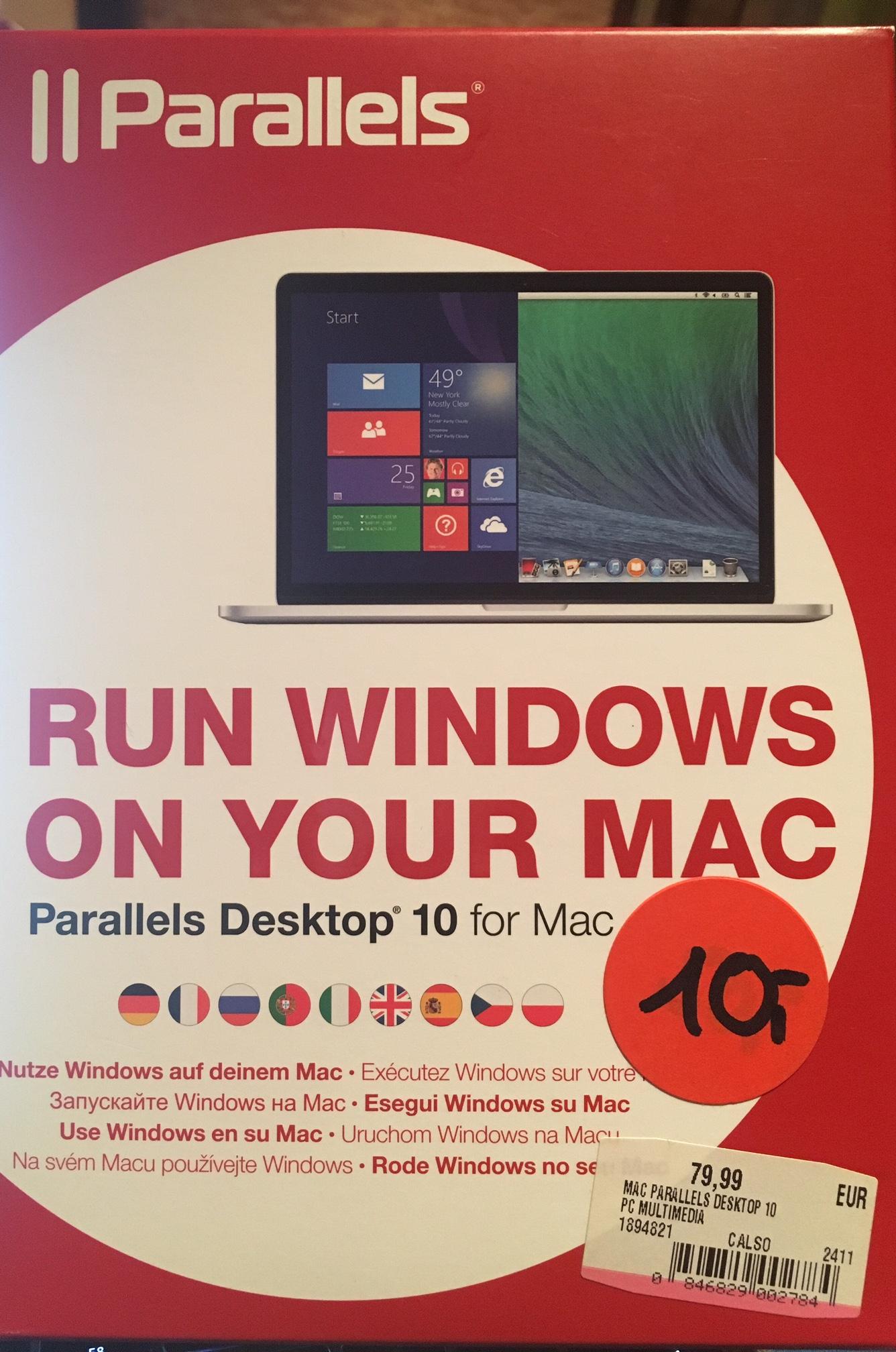[LOKAL MM RIESA] Parallels Desktop 10 for Mac Box