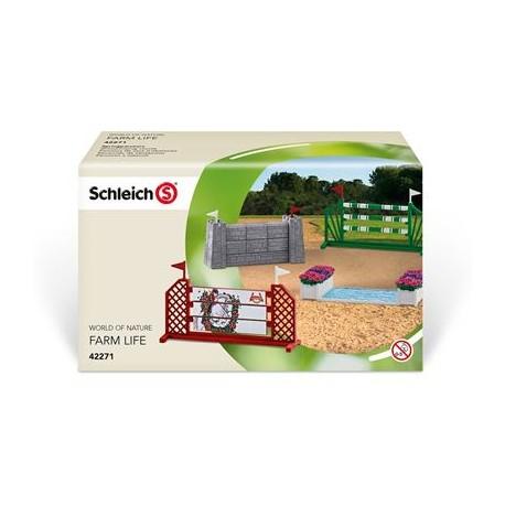 [Spielwaren Krömer] (online und offline) Schleich Farm Life Springparcours 42271 10€ (Abholung) + 5€ Versand, PVG 18,95€