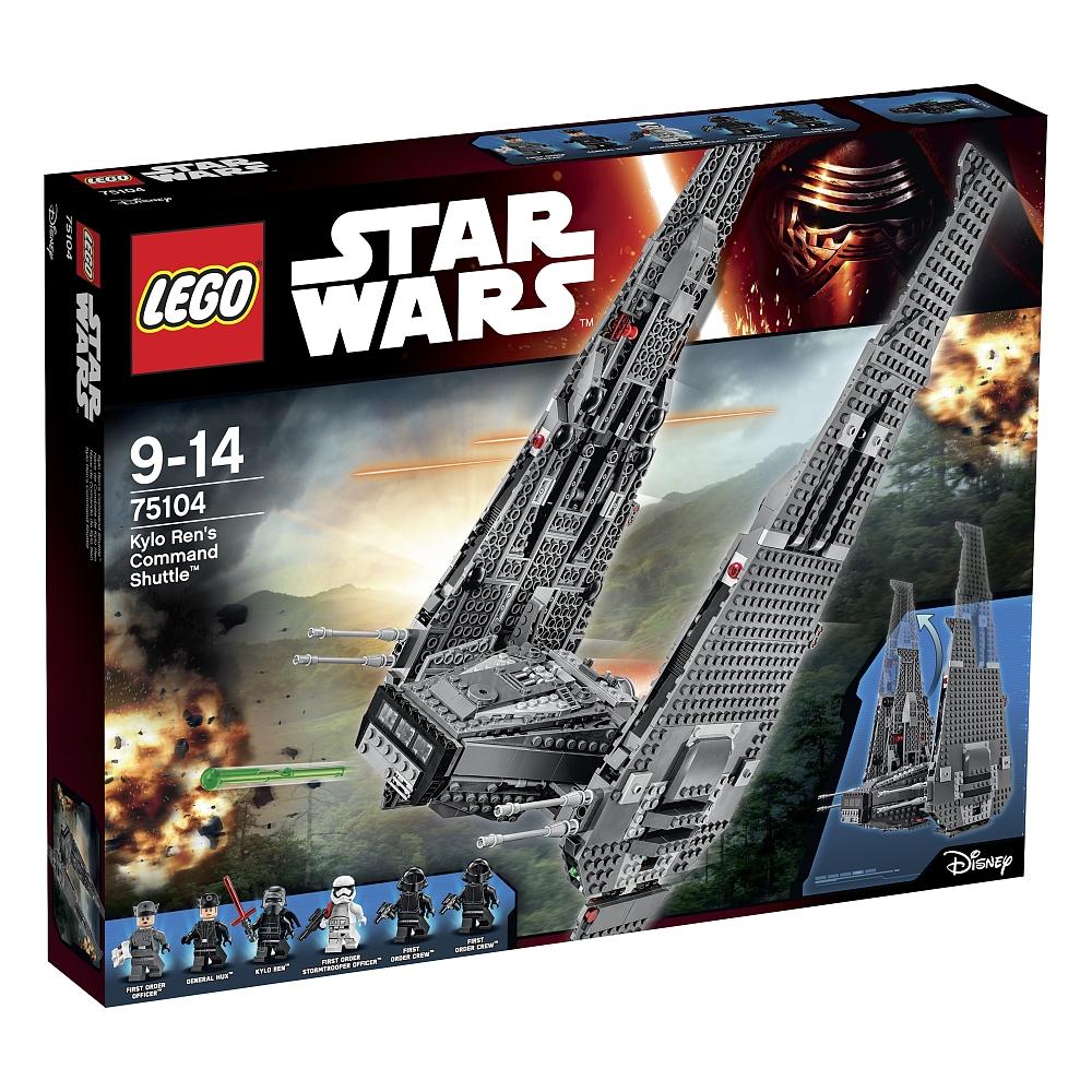 LEGO Star Wars - 75104 Kylo Ren's Command Shuttle sowie 75156 Krennic's Imperial Shuttle für je ca. 64 EUR (bei Zahlung mit PayPal)