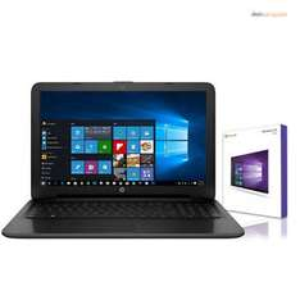 HP Notebook 15,6 Zoll - AMD E2 -Quad Core 4 x 1,80 GHz - 500 GB HDD, 4 GB Ram, 1 x VGA, 1 x HDMI,  2 x USB 2.0, 1 x USB 3.0, DVD Brenner, Windows 10 Pro für 229€ @ebay.de WOW (deincomputer)