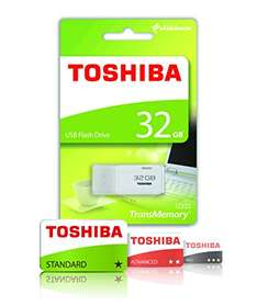 [Amazon Plus/Prime] Toshiba 32GB USB 2.0 Stick für 5€