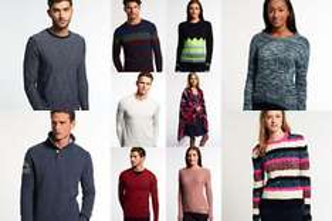 Superdry Pullover für Frauen und Männer - verschiedene Modelle und Farben - für EUR 29,95 (UVP EUR 69,95)