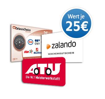 55€ Gutschein bei Abschluss der KFZ-Versicherung bei AllSecur