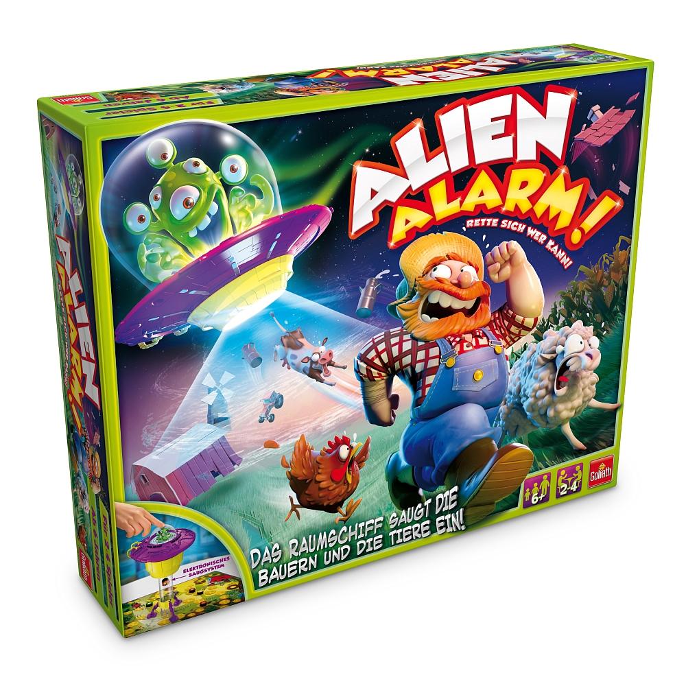Alien Alarm von Goliath für 9,98€ bei Abholung @ [ToysRUs] + 2 weitere Goliath Spiele