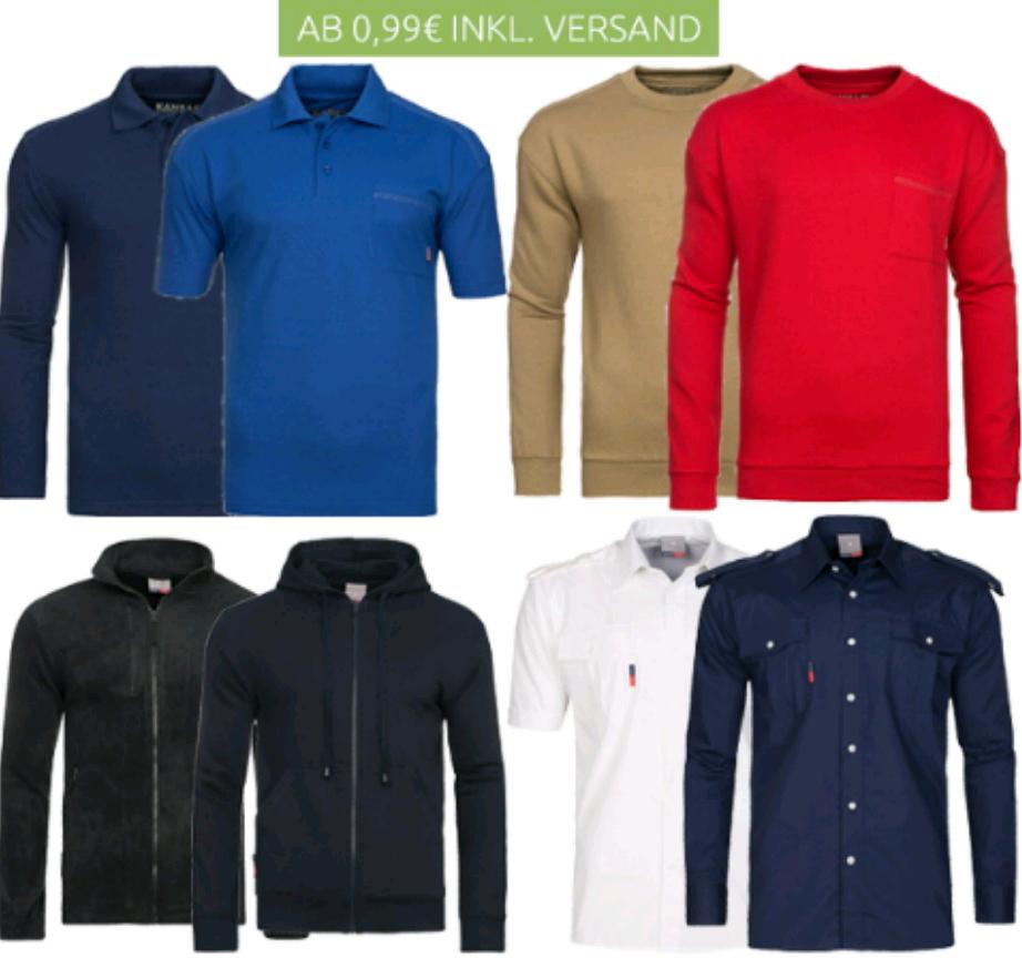 T-Shirt, Polos, Sweatshirts für 0,99€ inkl. Versandkosten bei outlet46 nur Größe xs oder s