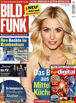 """Bild und Funk inkl. Beiheft """"nur Digital"""" für Digitale Sender wie Sky etc. pp. für effektiv -0,80€ im Jahresabo"""