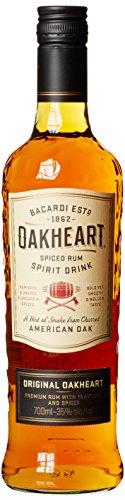 Bacardi Oakheart Spiced Rum (1 x 0.7 l) für 9,99 EUR Amazon