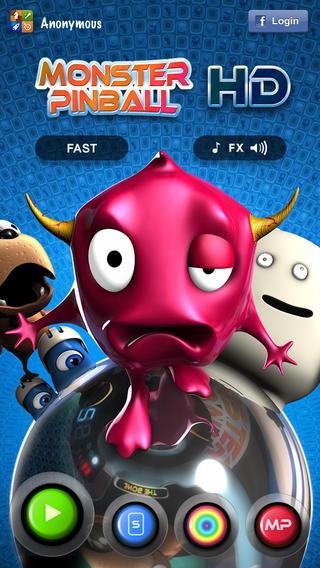 [iOS] Monster Pinball HD kostenlos