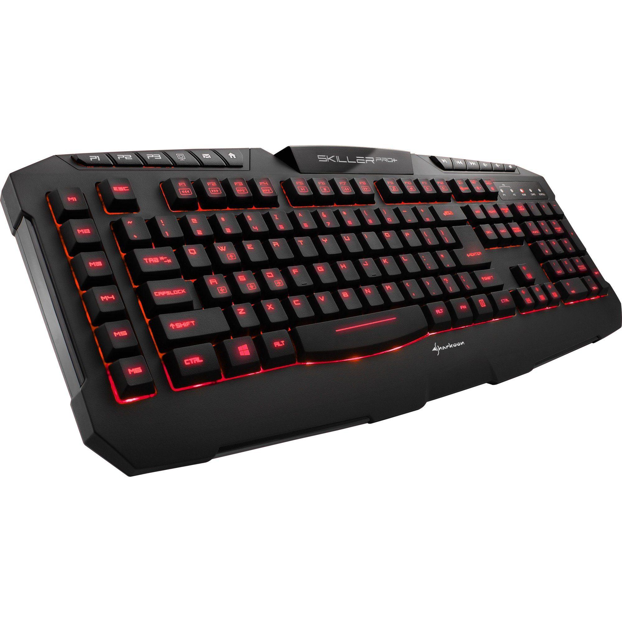 [Otto] Sharkon Skiller Pro+ Gaming Tastatur für 23,94€