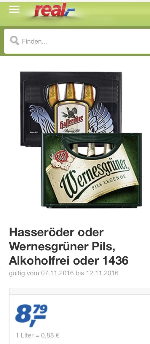 [Real offline, lokal Rügen/MV] Wernesgrüner  20*0,5 l