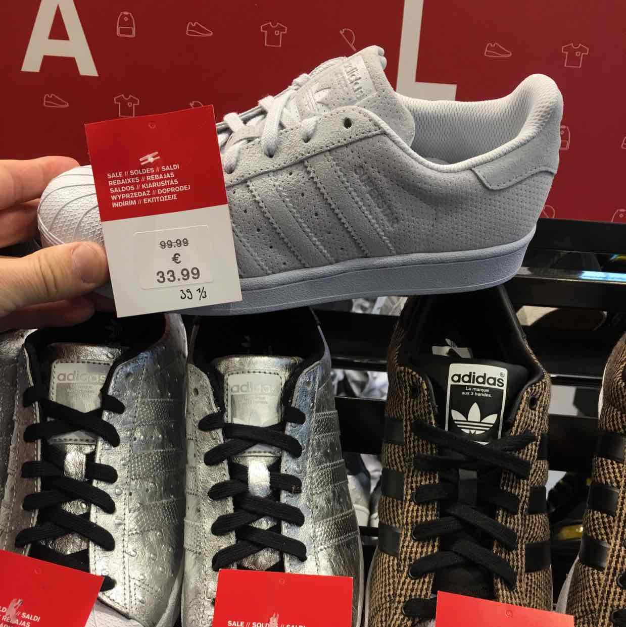 Adidas Superstar 33,90 Euro Lokal in Hannover Foot Locker