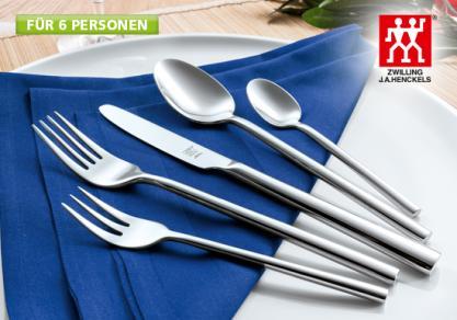 """[Segmüller Friedberg, Parsdorf, Weiterstadt]  BESTECK """"ABERDEEN"""" 30-TLG von Zwilling für 79,99€ statt PVG 114,99€"""
